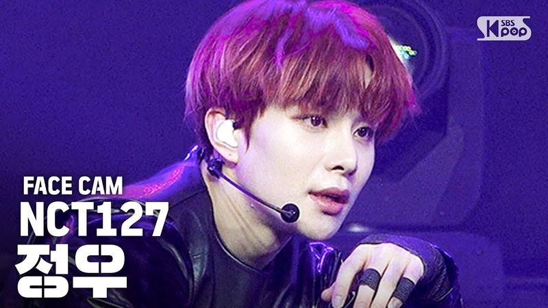 [페이스캠4K] NCT127 정우 '영웅' (NCT127 JUNGWOO 'Kick it' FaceCam) │ @SBS Inkigayo_2020.3.15