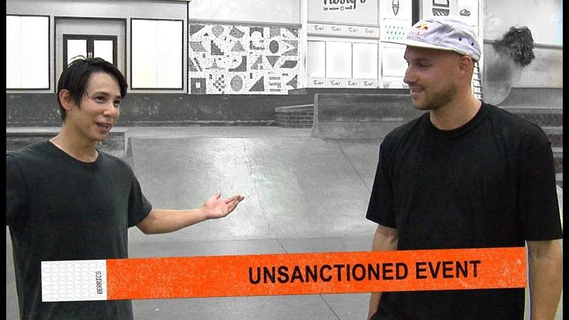 Unsanctioned Game Of S.K.A.T.E. | Sean Malto Vs. Sewa Kroetkov