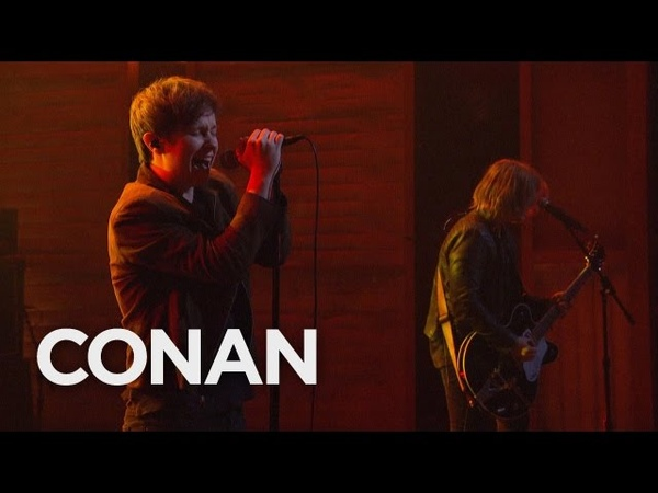 Nothing But Thieves Wake Up Call 05/24/16 - CONAN on TBS