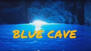Blue cave Parasta island Kastelorizo Greece