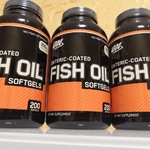 Optimum Nutrition  Fish Oil Softgels (200 капс.) ОМЕГА 3