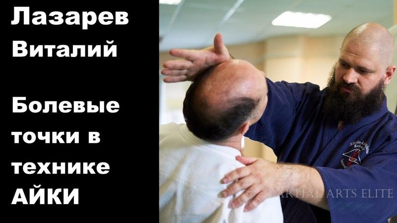 Seminar 61: Lazarev Vitaliy Aikido Aikijujutsu Yosekan Russia