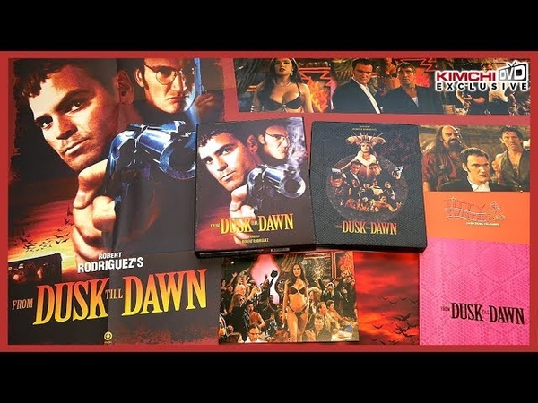 FROM DUSK TILL DAWN LIMITED LENTICULAR FULL SLIP STEELBOOK UNBOXING KIMCHIDVD EXCLUSIVE 74