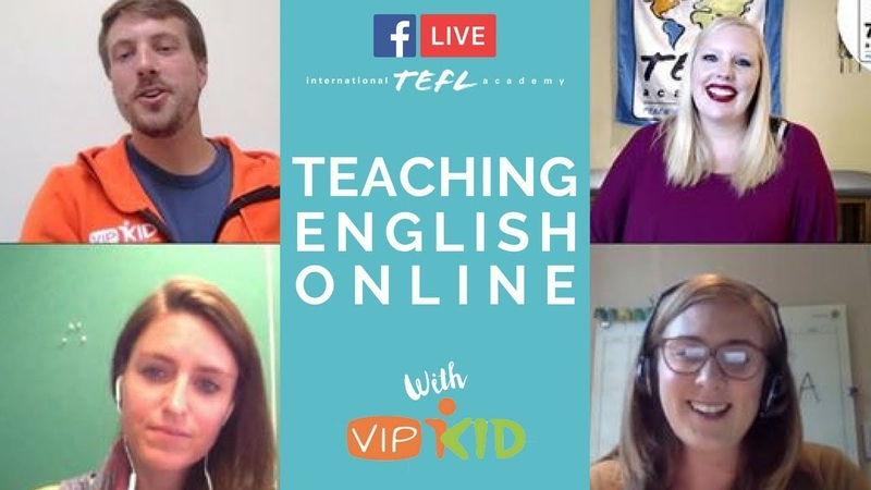 Teaching English Online With VIPKID TEFL Facebook Live