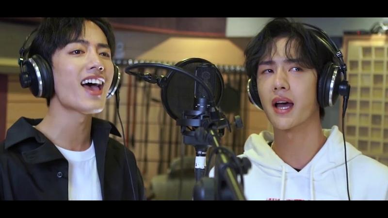 The Untamed OST   陈情令 Main Themed Song《无羁 Wu Ji》——Xiao Zhan 、Wang Yi Bo Duet