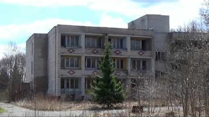 Заброшенная турбаза в селе Барское-Татарово около поселка Мстера. Вязниковский район