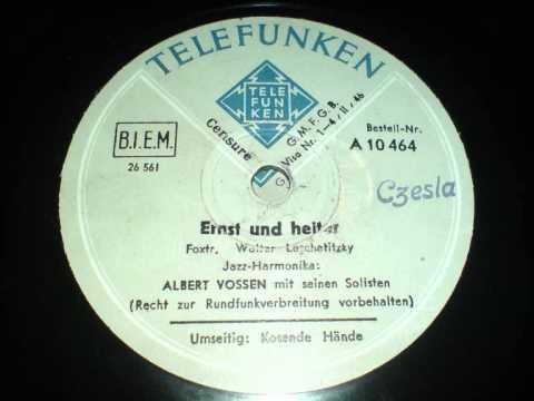 Albert Vossen Ernst und heiter