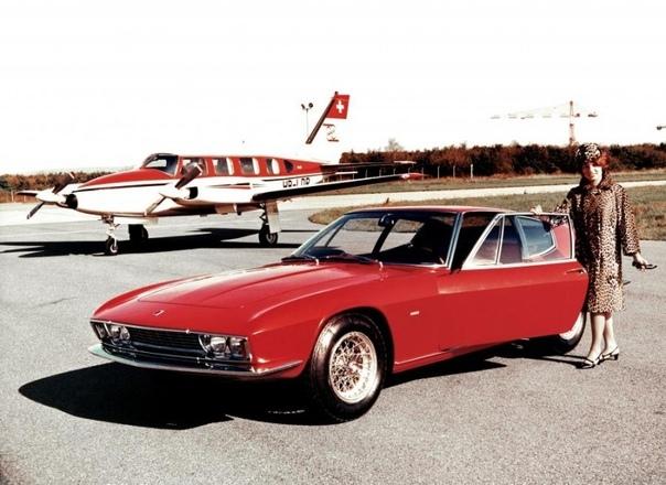 Швейцарский спортивный автомобиль Monteverdi High Speed 375S Frua