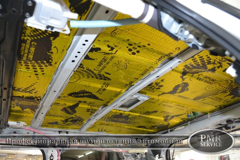 Комплексная шумоизоляция Toyota Land Cruiser 200, изображение №2