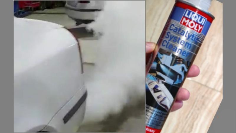 تنظيف علبة البيئة للسيارات باستخدام سائل 160