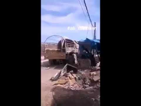 TURKISH CONVOY HIT BY AIRSTRIKE WHILE PROVIDING MILITARY LOGISTIC ASSISTANCE TO IDLIB MILITANTS