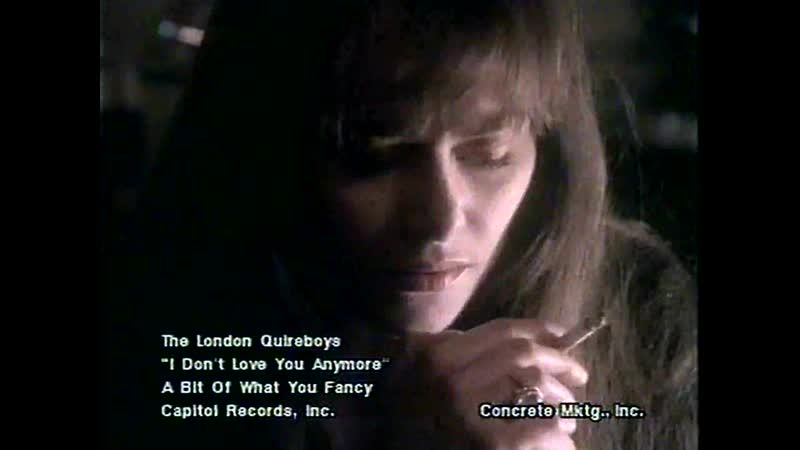 The London Quireboys I Dont Love You Anymore 1990 Замена звуковой дорожки