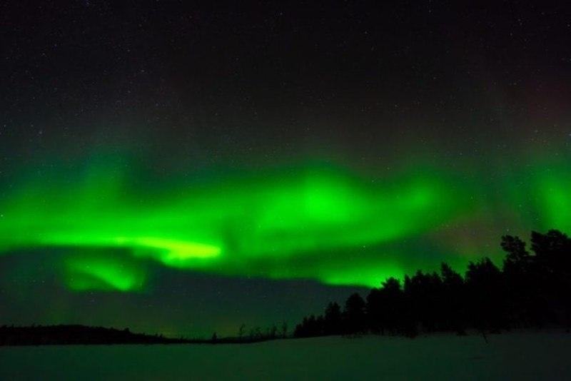 10 лучших мест в мире, где можно увидеть северное сияние, изображение №7