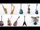 Sound of musical instruments. Музыкальные инструменты и их звучание. Обучающее видео для детей 1