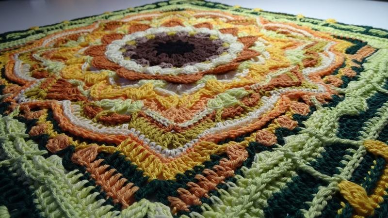 Crochet Blanket - Eves Sunflowers - Part 3