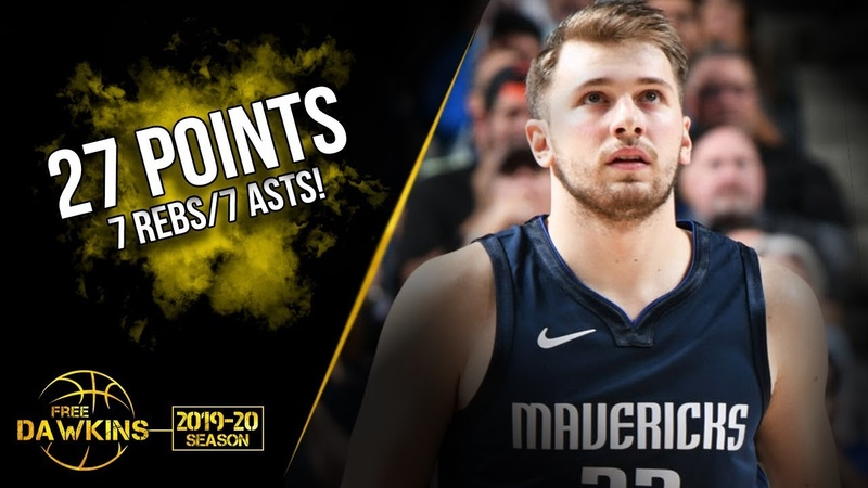 Luka Doncic Full Highlights 2019.11.06 Mavs vs Magic - 27 Pts, 7 Rebs, 7 Asts! | FreeDawkins