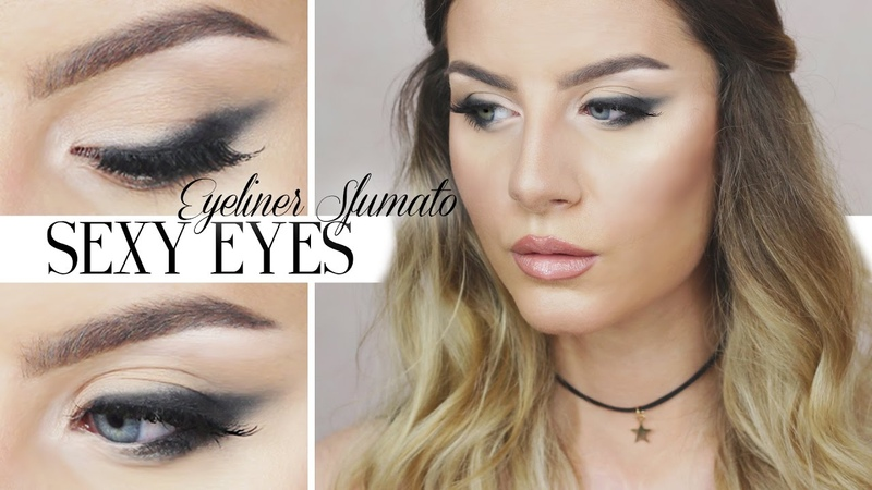 Tutorial Trucco Eyeliner Sfumato Occhi da Gatta Lauren Alaina Road Less Traveled Inspired Makeup