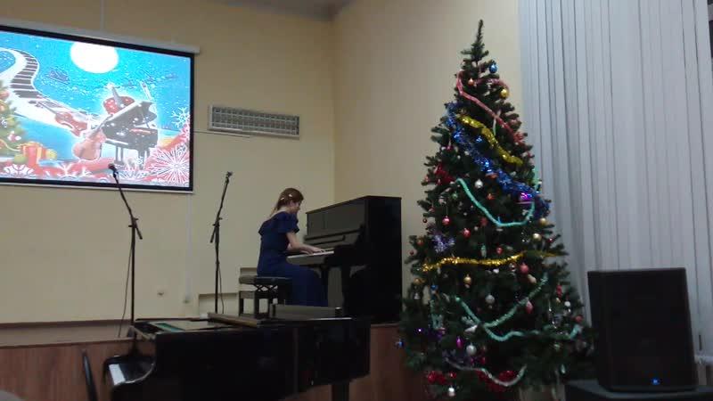 Концерт в Вытегорской школе искусств Фрагмент 1
