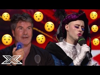 ECCENTRIC Contestants That SURPRISED The Judges | X Factor Global