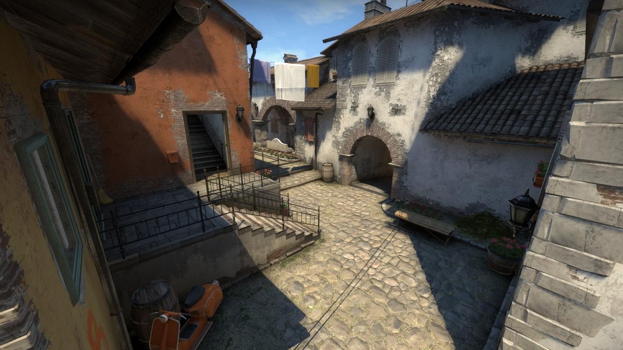 Карта Inferno в CS:GO