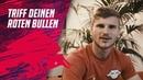 Das Gewinnerteam für den Torschuss-Döner mit RBL-Stürmer Timo Werner steht fest