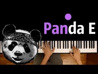 CYGO - Panda E ● караоке   PIANO_KARAOKE ● ᴴᴰ + НОТЫ & MIDI   Правда, покорила меня, твоя правда ...