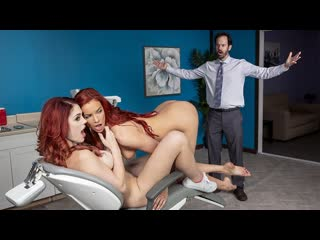 Jayden cole, molly stewart gingervitis (lesbian, big tits, natural tits, doctor, nurse, red head, pussy licking)