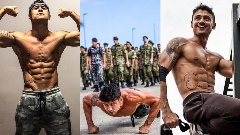 Intermediate Level Calisthenics Workout Skills Strength Crossfit Hardcore Gym Workout..
