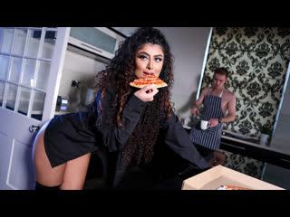 Marina maya late date blowjob, brunette, latex, natural tits, sex toys indian, порно