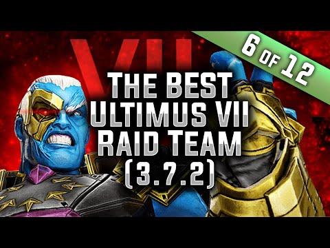 The BEST Ultimus VII Raid Team 3 7 2 MARVEL Strike Force MSF