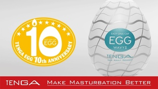 TENGA EGG Series - 10th Anniversary Product Video