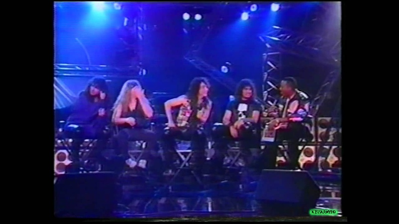 KISS on The Arsenio Hall Show 1993