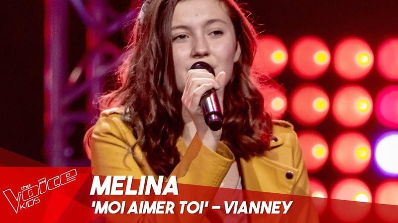 Melina - 'Moi aimer toi' | Blind Auditions | The Voice Kids Belgique