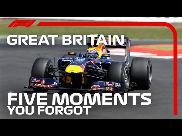 Формула 1 * Гран при Великобритании * Топ 5 забытых моментов