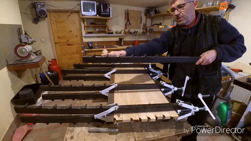 Ваймы струбцины столярные для склеивания щитов своими руками