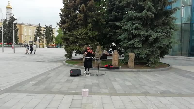 Billie Eilish Bad Guy cover in Kharkov
