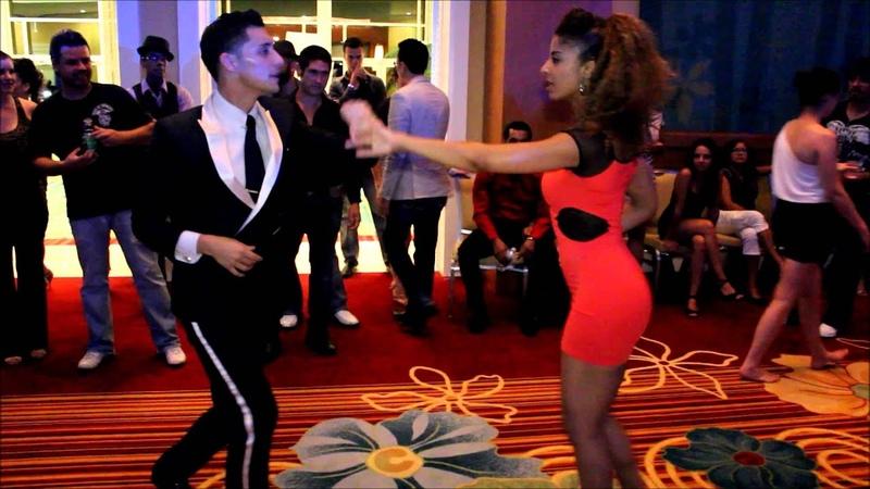 Nery Garcia Tanja La Alemana Orlando Salsa Congress 2012 Sat Social Dancing