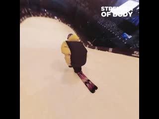 Сальто на лыжах, на камеру 360 градусов 🔥 cfkmnj yf ks;f[, yf rfvthe 360 uhflecjd 🔥