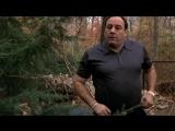 (Клан Сопрано S04E01_10) Тони всё ещё ныкает бабло