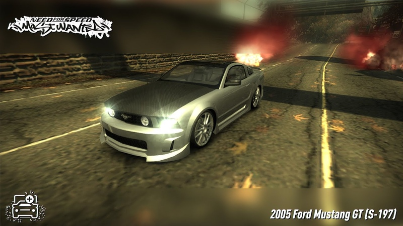 NFS Most Wanted 2005 Ford Mustang GT S 197 Extra Customization Showcase