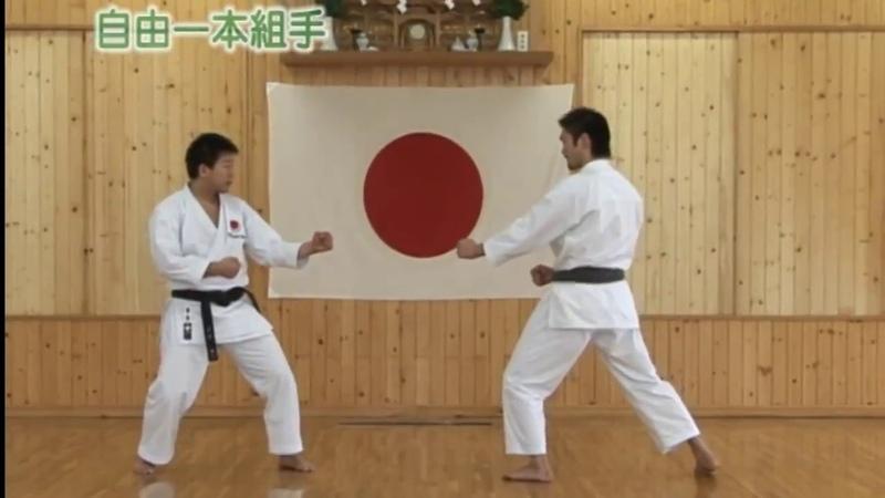 Jiyu ippon kumite 自由一本組手 JKA