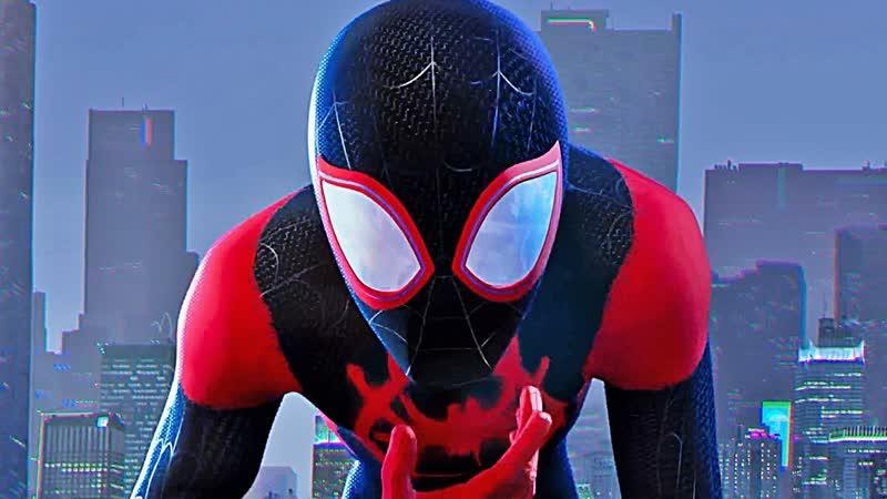 Человек паук Через вселенные Spider Man Into the Spider Verse 2018