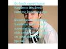 Jang Geun Suk Let's go back sweet home with lyrics
