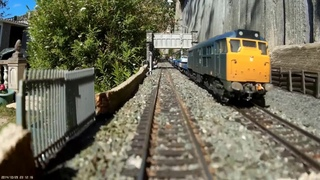 Stopping at all stations FULL cab ride tour of Ballan Parkway OO gauge layout