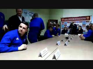 "Встреча Романа Старовойта с командой ""Авангард"""