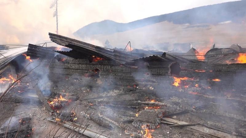 Для учеников сгоревшей школы в Большом Голоустном подготовят помещения для занятий в посёлке