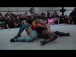 [#My1] Kiera Hogan vs. Heather Monroe from Bar Wrestling