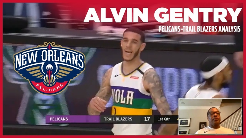 Alvin Gentry Analyzes Pelicans Play vs Trail Blazers from 2 21 20