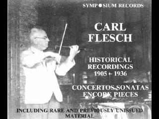N. Paganini Caprice No. 20 Op. 1 in D Major - Carl Flesch Acc. I. Strasfogel