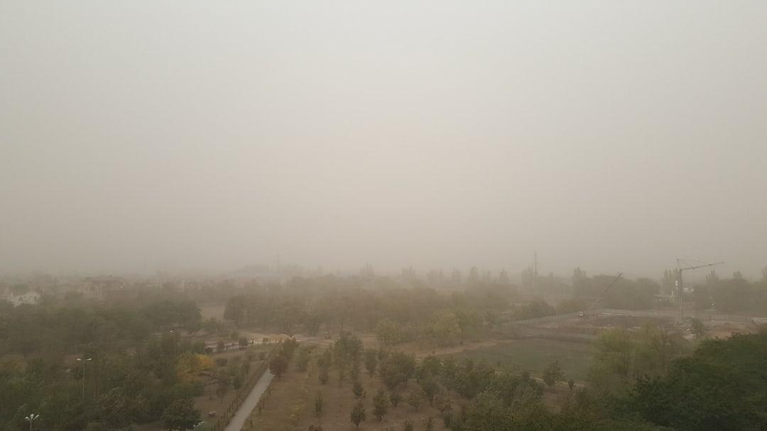 Пыльная буря в Таганроге: МКУ «Управление защиты от ЧС» города  Таганрога информирует
